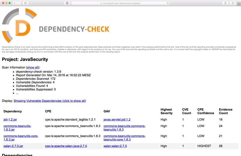 vuln-scanner-dependency-check